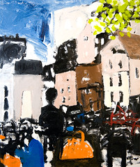 Place de la Sorbonne, Paris (Neal Turner) Tags: nealturnercom art paris france french frenchoilpainting oilpainting contemporary nealturner neil originalart sorbonne painting expressionist expressionism oil cityscape nude portrait figurative modern balzac contemporaryartist contemporaryart contemporaryoilpainting postimpressionist postimpressionism postmodern modernist neilturner originalpainting contemporarypainting dailypainting apaintingaday hauserwirth gagosiangallery michaelwerner davidzwirner theholegallery luringaugustine thepacegallery gladstonegallery paulkasmingallery cheimandread cheimread adambaumgoldgallery tiltongallery