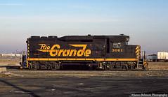 You Spin Me Round (jamesbelmont) Tags: roper wye slc gp30 train railroad 3001 drgw yard