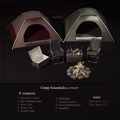 DYNASTY - Camp Essentials for EPIPHANY (Jin Zhu / DYNASTY) Tags: epiphany dynasty april 2017 camping gacha