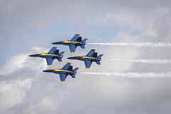 Blue Diamond (Longleaf.Photography) Tags: blueangels plane airplane jet navy marines flight pensacola gulfshores al fl