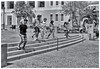 camera used: 1963 Kodak Instamatic 104 (Samy Collazo) Tags: kodakinstamatic1041963 ilfordfp4125plus lightroom3 niksilverefexpro2 labarandilla sanjuan oldsanjuan viejosanjuan puertorico bn bw escaleras stairs gente people streetphotography fotografiacallejera