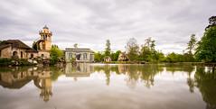 Hameau de la reine (Matthieu Manigold) Tags: domaine chateau de versailles hameau petit trianon reflect reflet miroir