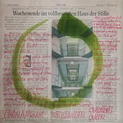 """""""an apple a day keeps the doctor away - An ENSO (circle) a Day ..."""" 13. Oct 14: Sweet Smell in the Air at netherland - prison """"House of Silence"""" Haus der Stille Gefngnis Karlau - Ser Duft weht: Schwarzer Afghane, Rotes Libaneserl, Grasgrnes Graserl (hedbavny) Tags: vienna wien blue red green rot art ink circle studio austria sterreich poetry kunst postcard diary minimal silence cycle netherland letter gras wabisabi meditation grn calligraphy mailart blau minimalism standard newpaper tagebuch tinte danube utopia cannabis aktion zeitung donau atelier poesie kreis brache interstice postkarte stille enso paradies workingroom narrenturm werkstatt undine gefangen handschrift ansichtskarte gefngnis hasch bung arbeitsraum aufgabe kalligraphie chronik project365 zwischenraum aktionismus ambros tuschestift zyklus karlau gstetten schwarzerafghane hedbavny ingridhedbavny wochenbuch roterlibanese"""