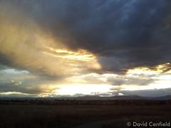 October 22, 2014 - Gorgeous Colorado sunset. (David Canfield)