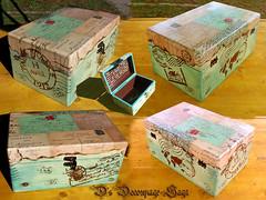 Around the World  by Decoupage Saga (DecoupageSaga) Tags: vintage box handmade boxes homedecor artcrafts decoupage vintageboxes vintagebox decoupagebox decoupageboxes decoupagesaga
