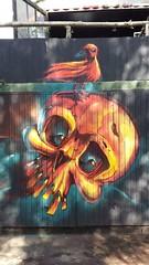 Fire bird by Fat Heat (Digger Barnes) Tags: beer skull graffiti paint villa friekens fatheat paintbeer villafriekens