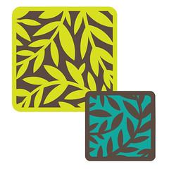 square-vine-cards (emily dyer) Tags: silhouette card folded greetingcard svg papercut diecut foldedcard