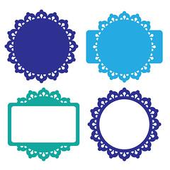 frames-set (emily dyer) Tags: silhouette svg papercut diecut