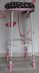 Tabouret relook (Val...Erie <3) Tags: tabouret relooking washitape