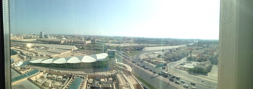 View from hotel, Manama Bahrain