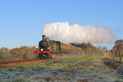 Magic Morning (Treflyn) Tags: from morning london station train during coast photo jon brighton south magic rail railway loco photographic class steam southern locomotive keynes bluebell charter bowers 062 e4 departs 473 lbscr horsted b473 062t
