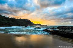 Lumahai_Beachcya-4 (Chuck 55) Tags: sunset hawaii kauai lumahaibeach kauaibeach