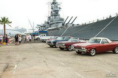 SCCCC-USS Iowa 2014 (PhantomPhan1974 Photography) Tags: chevrolet chevelle elcamino sanpedro ussiowa scccc southerncaliforniachevellecaminoclub ussiowapacificbattleshipcenter