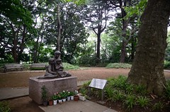 Statue in Minato-no-mieru-oka Park (ykanazawa1999) Tags: park statue japan yokohama kanagawa
