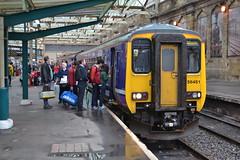 Northern Rail Super Sprinter 156451 (Will Swain) Tags: west station train coast october main north 4th rail trains super class line northern carlisle 156 2014 sprinter mainline 156451
