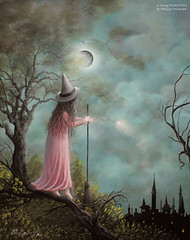 (A Young Witch) Acrylic Fantasy Witch Landscape Painting By Artist Philippe Fernandez (Philippe_Fernandez) Tags: art fairytale artwork witch gothic fairy fantasy tale acrylicpainting spells wizards landscapepainting moonpainting treepainting cloudpainting surrealpainting fairytaleart fantasylandscape gothicpainting witchpainting acryliclandscapepainting fairytaleillustrations witchpaintings littlegirlpainting witchillustration philippefernandezpaintings philippefernandezart artistphilippefernandez castelpainting ayoungwitch famouswitchpaintings paganpainting wiccapainting famouswitch famouswitchillustrations paganpaintings