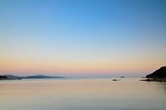 Earth shadow and Venus belt (kurumaebi) Tags: sunset sea nature landscape nikon yamaguchi mysky   d7000