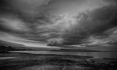 storm front (Dr Kippy) Tags: sea blackandwhite bw seascape canon seaside lakedistrict cumbria sigma1020mm ravenglass canon400d hdrefexpro2