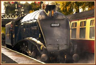 Steaming up Sir Nigel Gresley