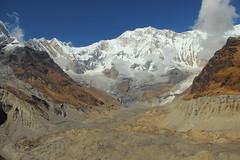 Annapurna I vue du camp de base a 4200m (François JACQUOT) Tags: nepal himalaya sanctuary anapurnna