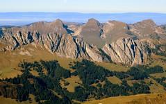 Die Gastlosen (oobwoodman) Tags: mountains alps montagne alpes schweiz switzerland suisse aerial berge alpen luftaufnahme aerien