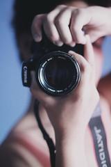 Smile (kodachromicdave) Tags: portrait me canon photography photograph selftaught gpoy