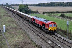 66118 aa Marholm 141014 D Wetherall (MrDeltic15) Tags: dbs class66 ecml marholm 66118 6m88