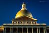 Real Gold (Ajay_Sahu) Tags: blue building boston architecture gold unitedstates copper newstatehouse statehouse bostonstatehouse massachusettsstatehouse ajaysahu unistedstatesofamrica