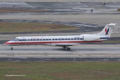 N688AE - 2004 build Embraer 145LR, rolling for departure on Runway 08R at Atlanta (egcc) Tags: atlanta eagle atl jackson american airlines aa 688 embraer aal 145 hartsfield katl 145lr n688ae 14500849