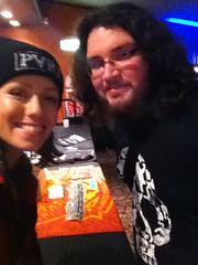 Jenna McDougall (of Tonight Alive) and I! (TheSamuelYears) Tags: musician winnipeg singer vocalist honeymoontour tonightalive jennamcdougall thehoneymoontour lastfm:event=3929853