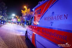 Küchenbrand Seerosenweg 31.10.14 (Wiesbaden112.de) Tags: halloween wiesbaden brand feuer feuerwehr rettungsdienst sst rauch notarzt dotzheim küchenbrand wiesbaden112 sebastianstenzelfotografie seerosenweg