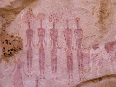 Ennedi NW (ursulazrich) Tags: sahara painting chad rockart petroglyphs tchad tschad cheire ciad ennedi tibesti gravuren