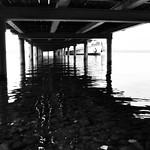 Ammersee Pier, underside