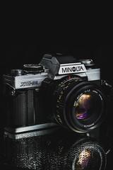 camera black reflection classic analog nikon minolta details retro filmcamera waterdrops lowkey xgm d7100 piotrszczepankiewicz
