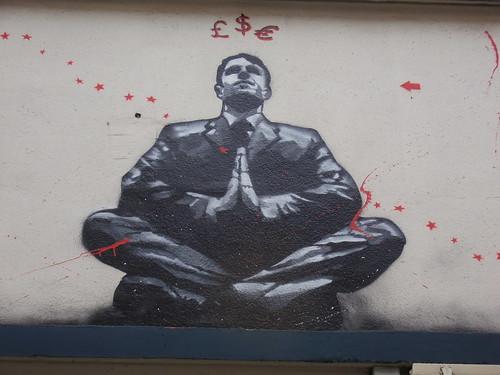 From flickr.com: Prire de banquier - banker prayer {MID-72688}