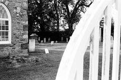 St. Andrew's, Eversley, Ontario (Richard Wintle) Tags: blackandwhite bw ontario canada film church monochrome cemetery grave graveyard 35mm fence minolta iso400 headstone tombstone rangefinder 400 gravestone disused churchyard standrews 135 pioneer premium 45mm presbyterian saintandrews dufferinstreet f17 rokkor arista eversley rokkorpf yorkregion kingtownship