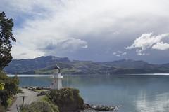 Akaroa Lighthouse (Henry Atkins) Tags: new spring harbour zealand peninsula banks akaroa