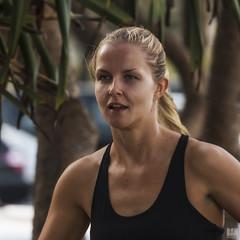 Morning Jog (BAN - photography) Tags: exercise blonde jogger prettygirl singlet