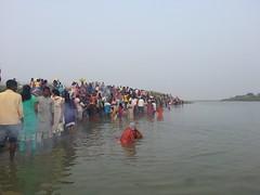 Chhath Puja Munger 2014 (vashishthsaini) Tags: photography dev puja ganga surya bihar 2014 2015 munger fastival chhath