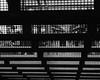 2241 Gridded (JoelZimmer) Tags: blackandwhite newyork subway unitedstates manhattan midtown 4x5 heraldsquare citygrid 24mmf28 nikond7000