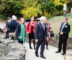 Arriving at The Irish Center