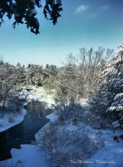 First Snow (Tom Mortenson) Tags: winter snow wisconsin river eauclaire