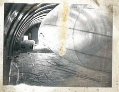 PAN_AM_FOTO_0326 (M HKA Archives) Tags: art 1969 netherlands photo 1971 foto basket object kunst archive nederland zeppelin visser depot antwerp antwerpen atelier mand archief muhka panamarenko aeromodeller bergereyk