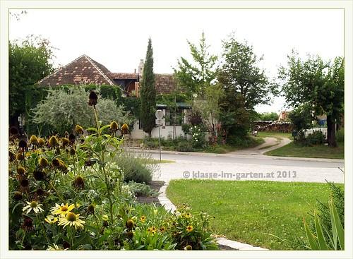 St.Margarethen: platz beet | 2012-09