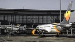Condor Boeing 757-330 (jack.swinkels) Tags: plane airplane gate boeing condor 757 bodrum milas