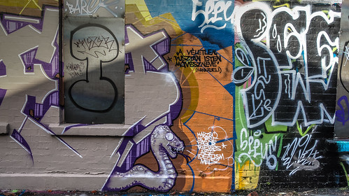 Windmill Lane [U2 Wall] In Dublin Docklands Ref-2221