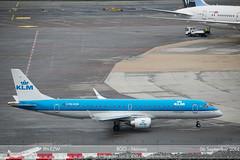 KLM - PH-EZW - ERJ 190STD (Aviation & Maritime) Tags: norway bergen klm embraer flesland erj erj190 embraer190 bgo royaldutchairlines enbr koninklijkeluchtvaartmaatschappij bergenlufthavnflesland phezw erj190std embraer190100std bergenairportflesland