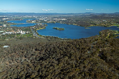 View from Telstra Tower, Black Mountain, Caberra. (andrew52010) Tags: canberra blackmountain act telstratower australiancapitalterritory lakeburleygriffin