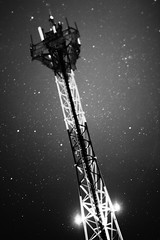 (Oeil de Boeuf) Tags: longexposure bw blancoynegro night 50mm largaexposicion starsinthesky