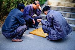 Mahjong players (jonas_k) Tags: travel northkorea pyongyang dprk pjöngjang